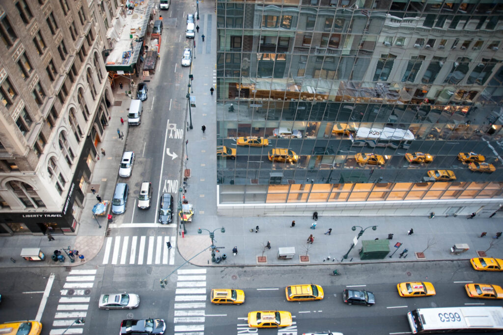 View of Madison Avenue, Midtown East, New York, NY