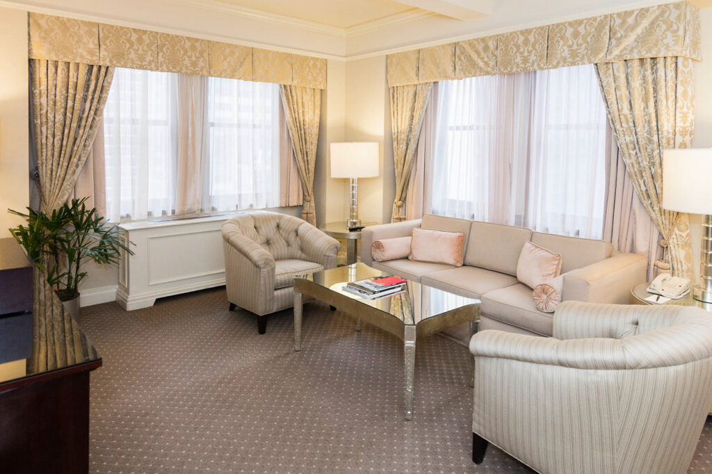 The On the Avenue Suite at the Warwick New York Hotel