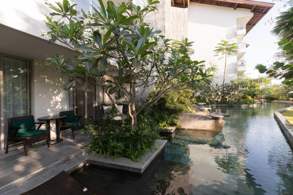 The Pool Access Suite at the RIMBA Jimbaran Bali by AYANA