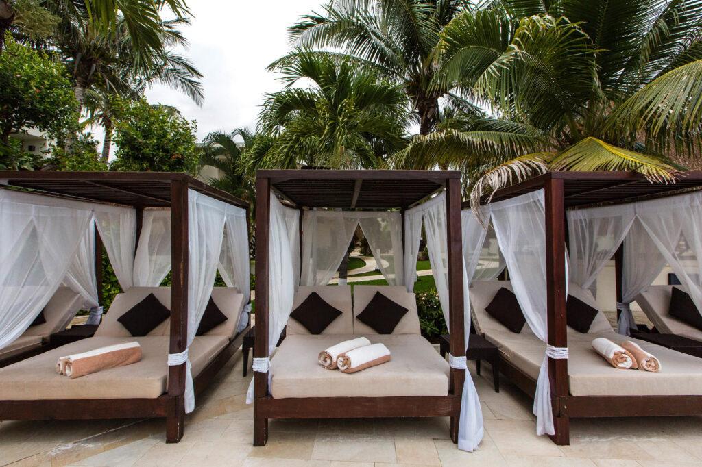 Beach at the Desire Riviera Maya Resort