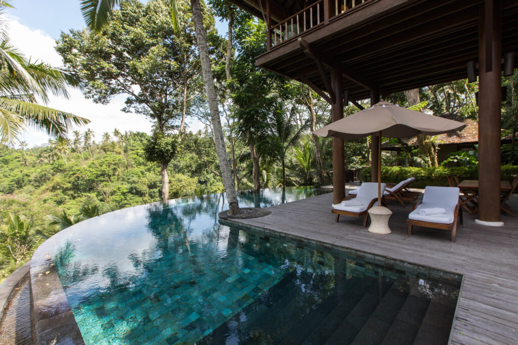 The Pool - Wanakasa (Forest in the Mist Residence) at the COMO Shambhala Estate