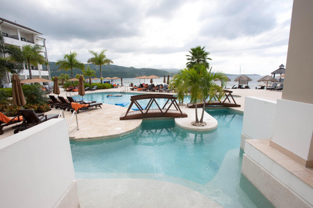 The Preferred Club Swim-Out Room at the Secrets Wild Orchid Montego Bay