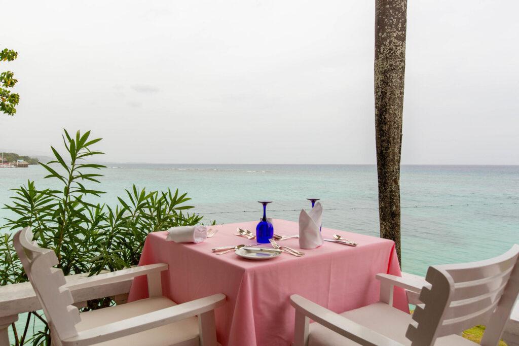 Shanti Restaurant at the Jamaica Inn