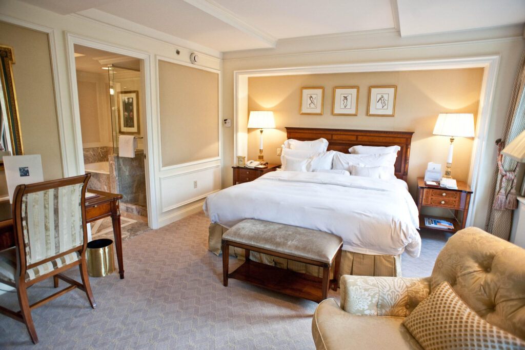 The Parkview Guestroom at The Ritz-Carlton New York, Central Park