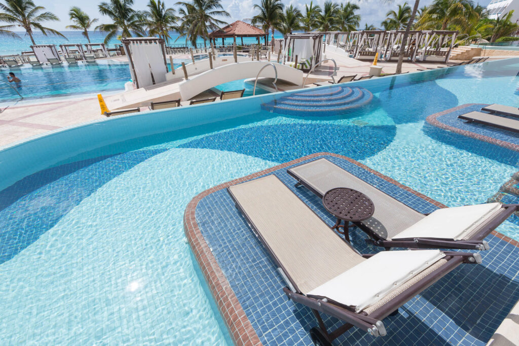 The Swim-Up Suite at the Hyatt Zilara Cancun