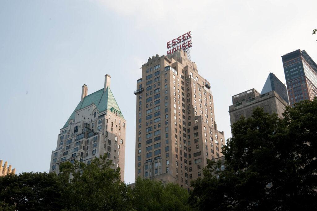 Exterior of the JW Marriott Essex House New York