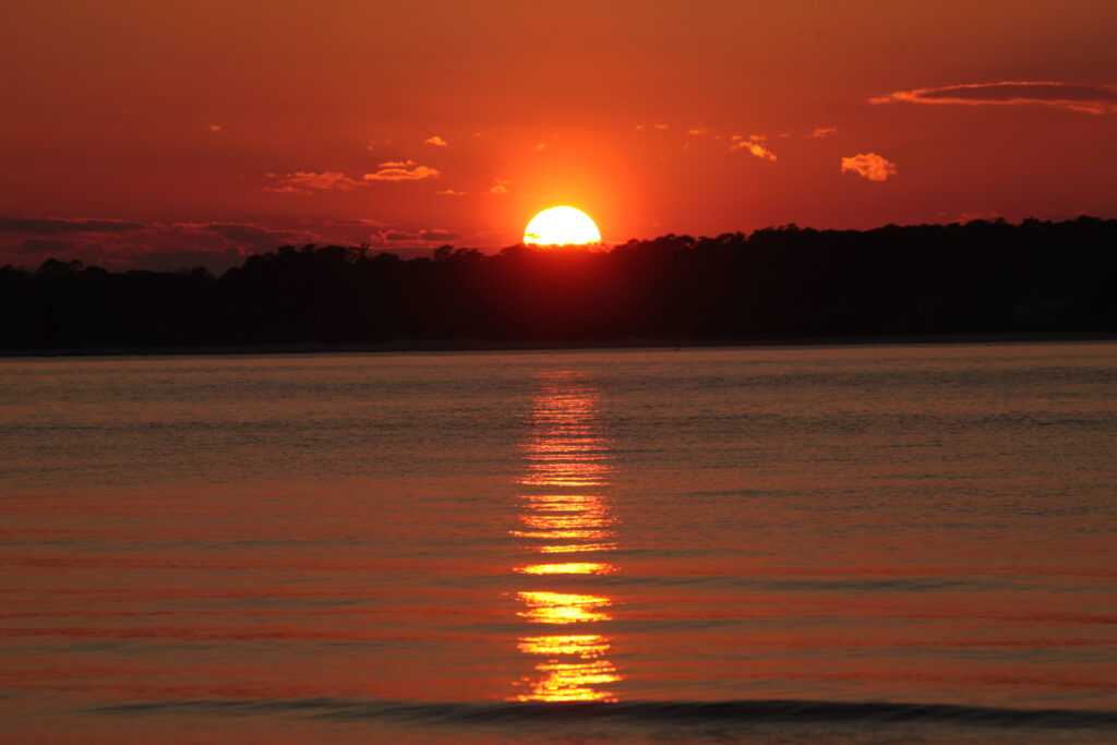 Sunset on Daufuskie Island