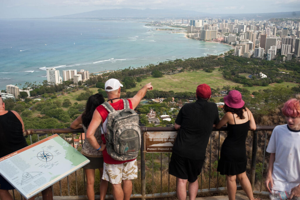 Diamond Head State Park, Oahu, Hawaii