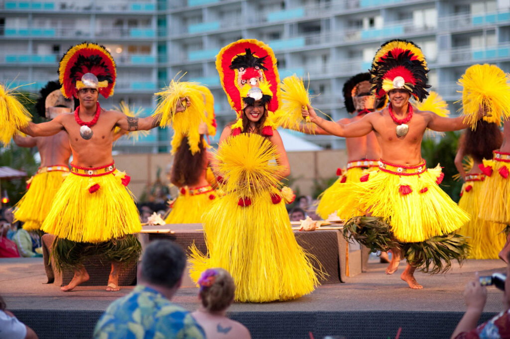 Luau at Hilton Hawaiian Village Waikiki Beach Resort