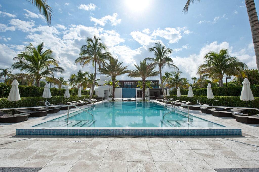 Pool at the Tideline Ocean Resort & Spa