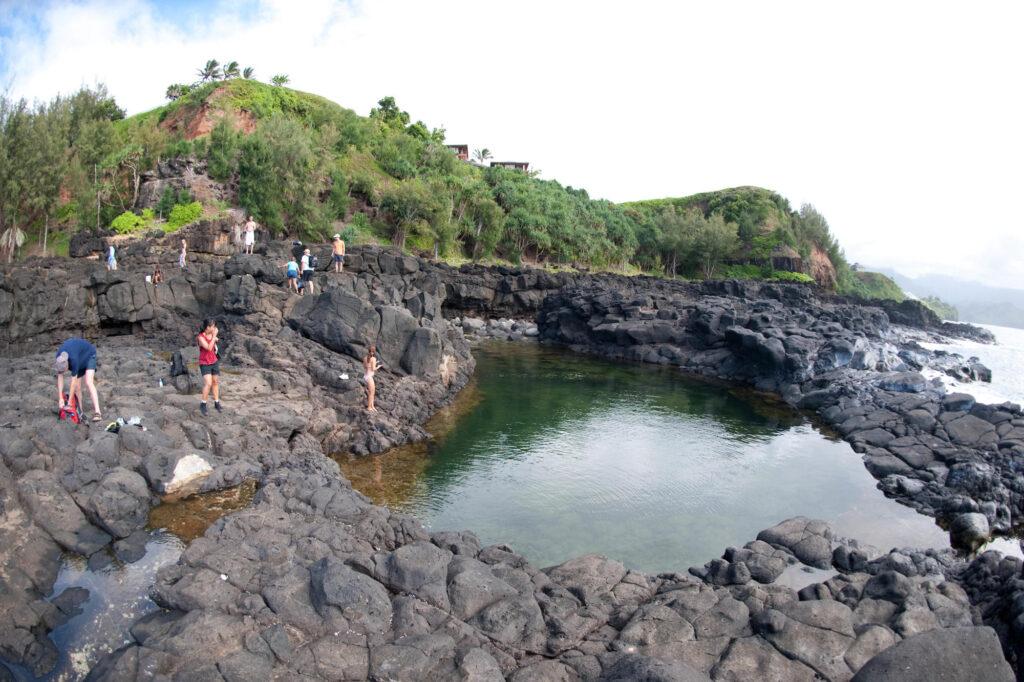 Queen's Bath, Princeville, Kauai, Hawaii