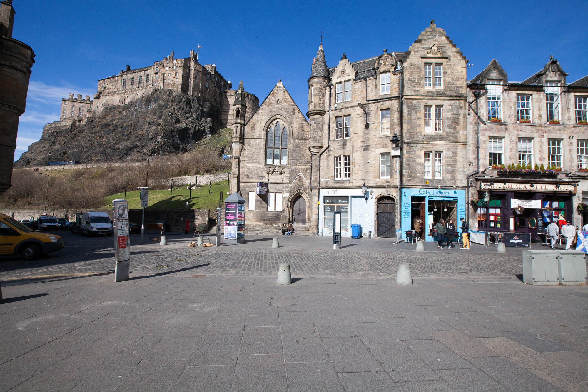 Street at the Apex Grassmarket Hotel, Edinburgh