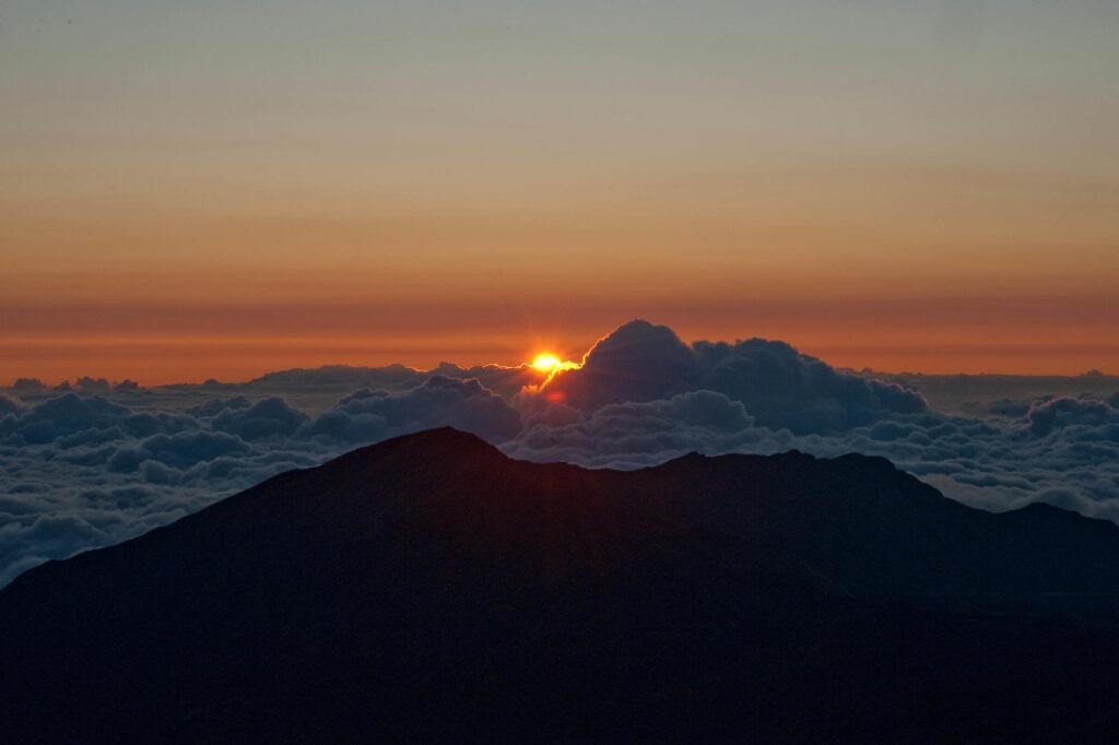 Sunrise, Haleakala National Park, Maui, Hawaii