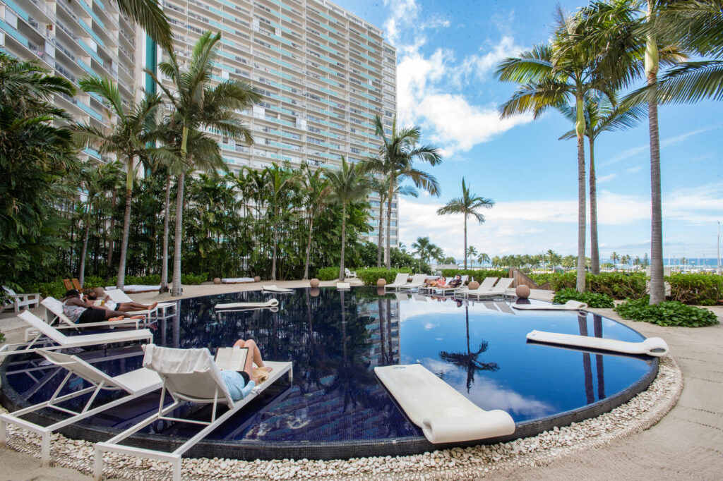 Adult Pool at the Pools at The Modern Honolulu