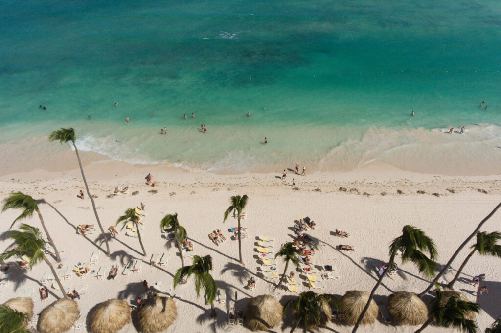 Beach at the Majestic Colonial Punta Cana