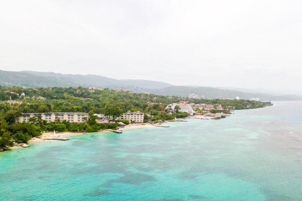 Aerial Photography at the Jamaica Inn near Ochos Rios