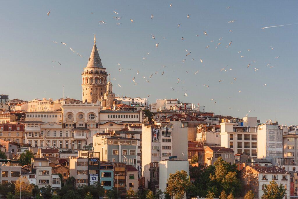 Istanbul, Turkey view