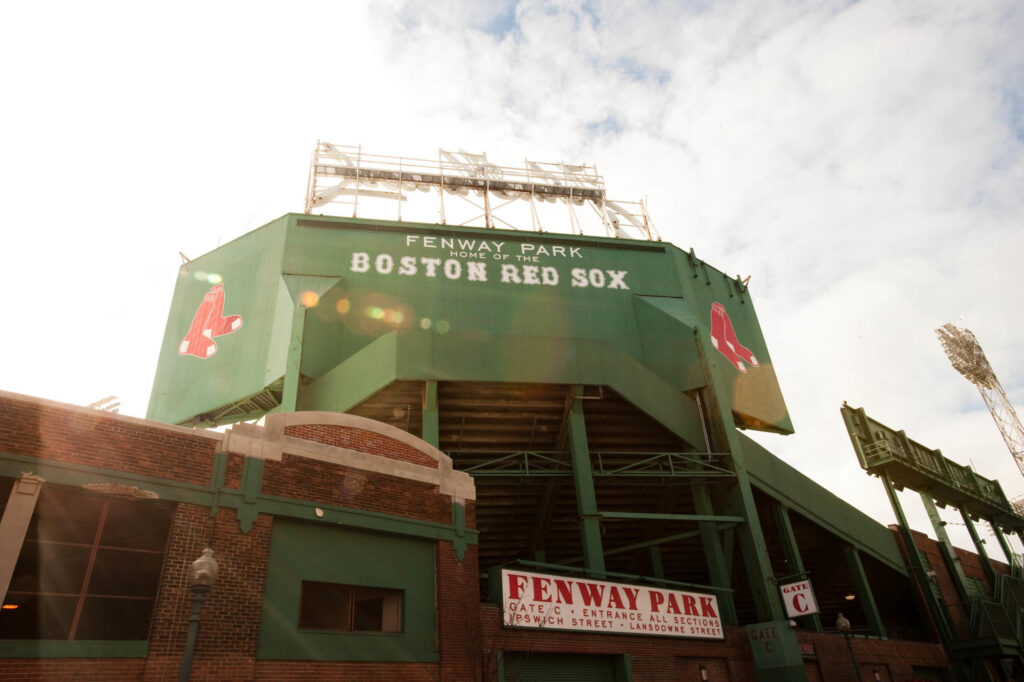 Fenway Park, Back Bay, Boston