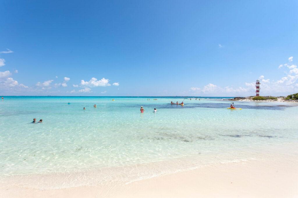 Beach at the Hyatt Ziva Cancun