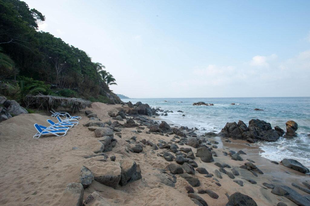 Beach at the Haramara Retreat