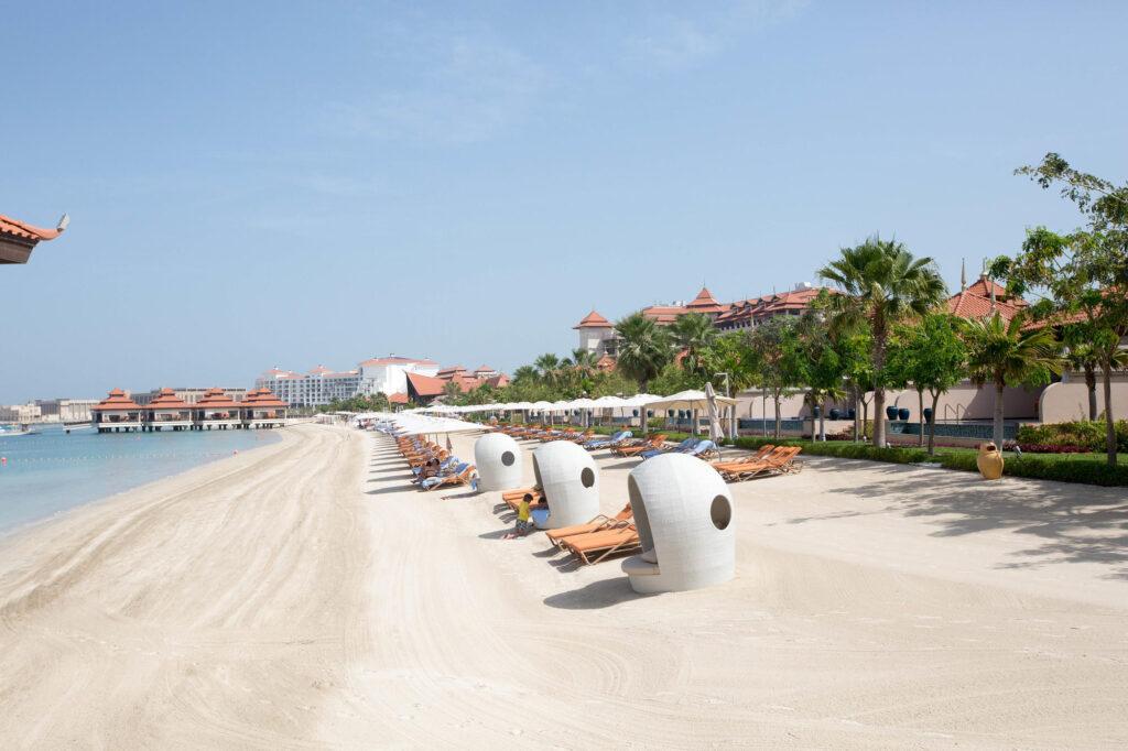Beach at the Anantara The Palm Dubai Resort