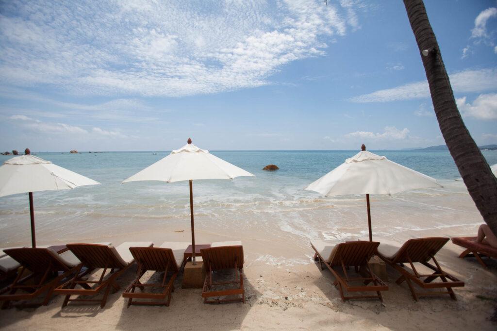 Beach at the Renaissance Koh Samui Resort & Spa