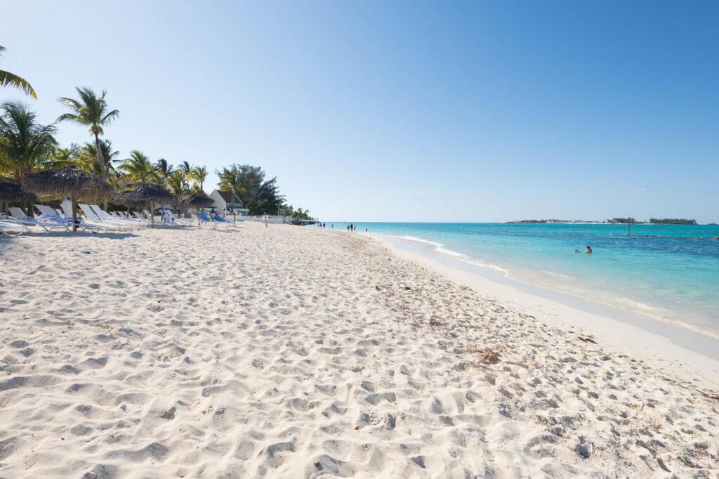 Beach at the Melia Nassau Beach Resort