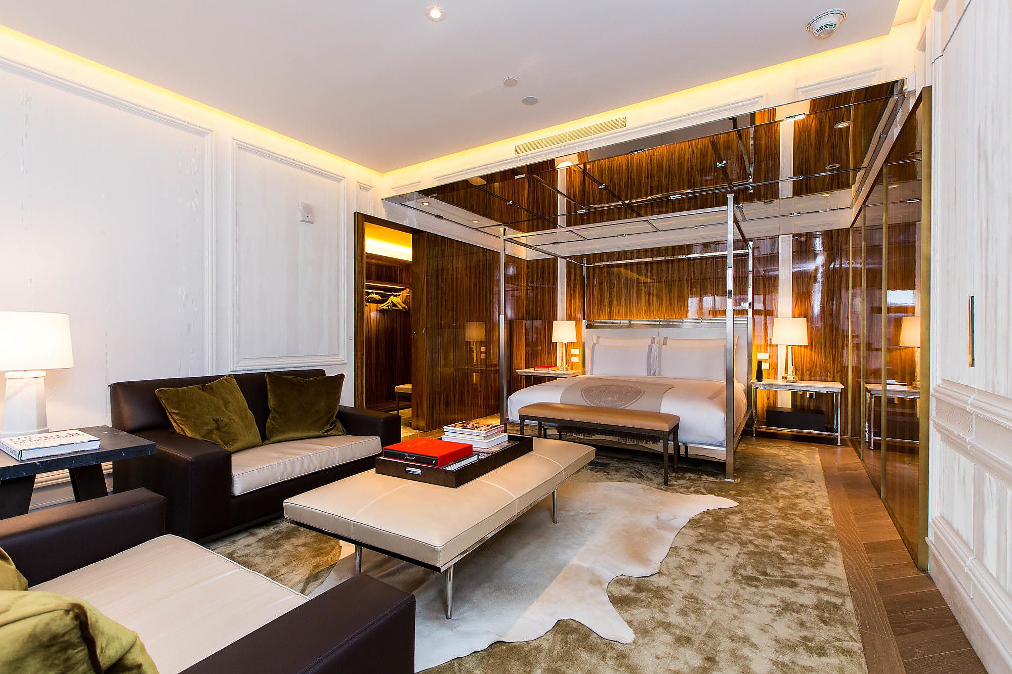 The Presidential Suite at the Baccarat Hotel & Residences New York.