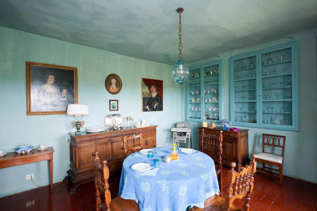 Breakfast Rooms at the Castello delle Quattro Torra