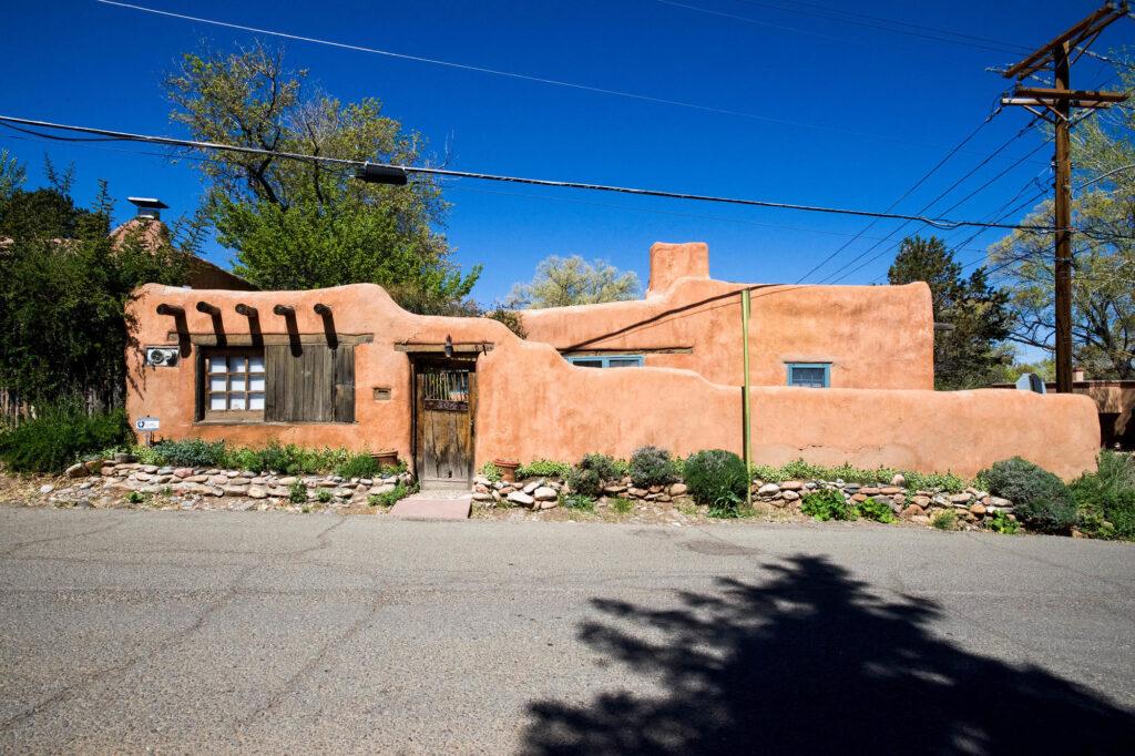 Canyon Road in Santa Fe, New Mexico