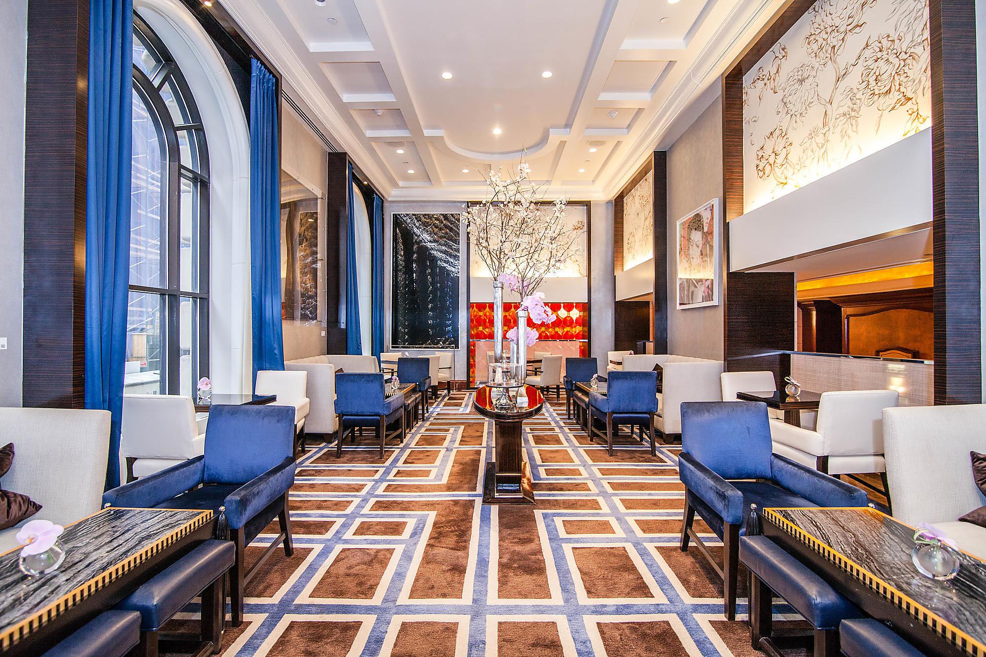 The Gotham Lounge at The Peninsula New York.