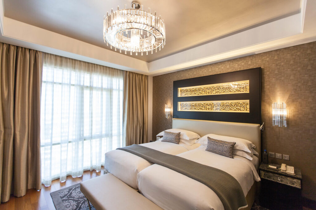 The Grand Deluxe Room at the Kempinski Hotel Mall of the Emirates