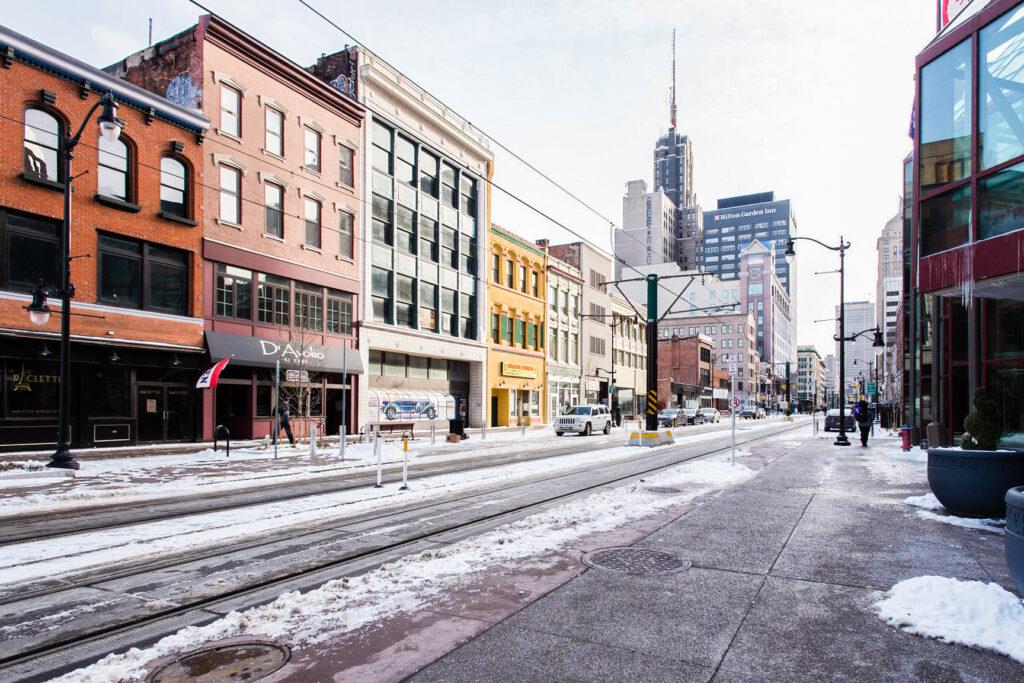 Street at the Hyatt Regency Buffalo