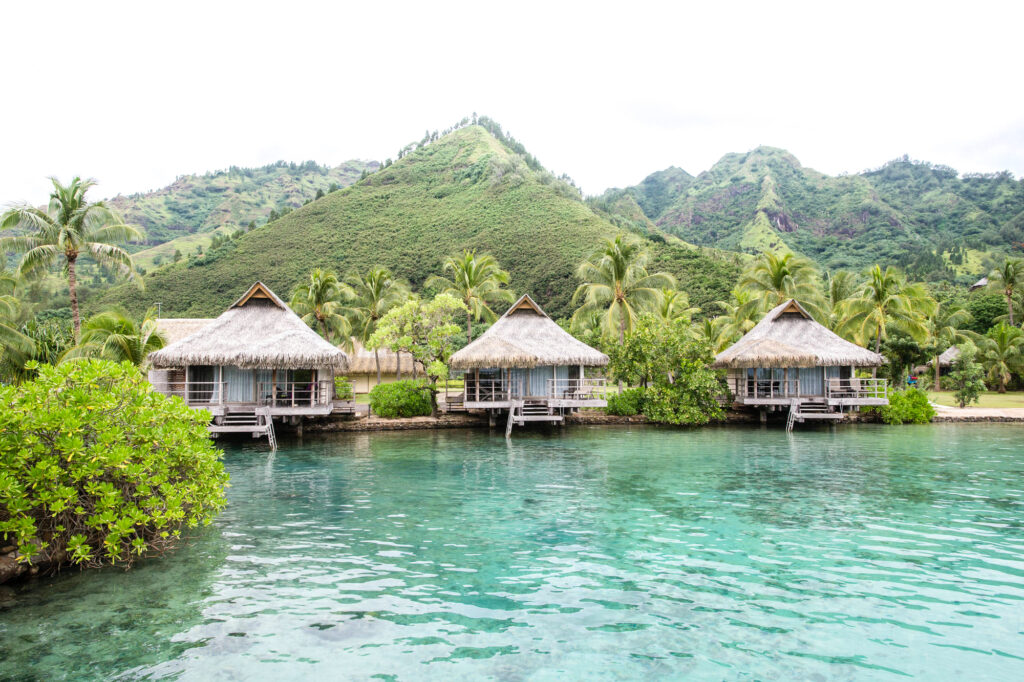 Grounds at the InterContinental Moorea Resort & Spa