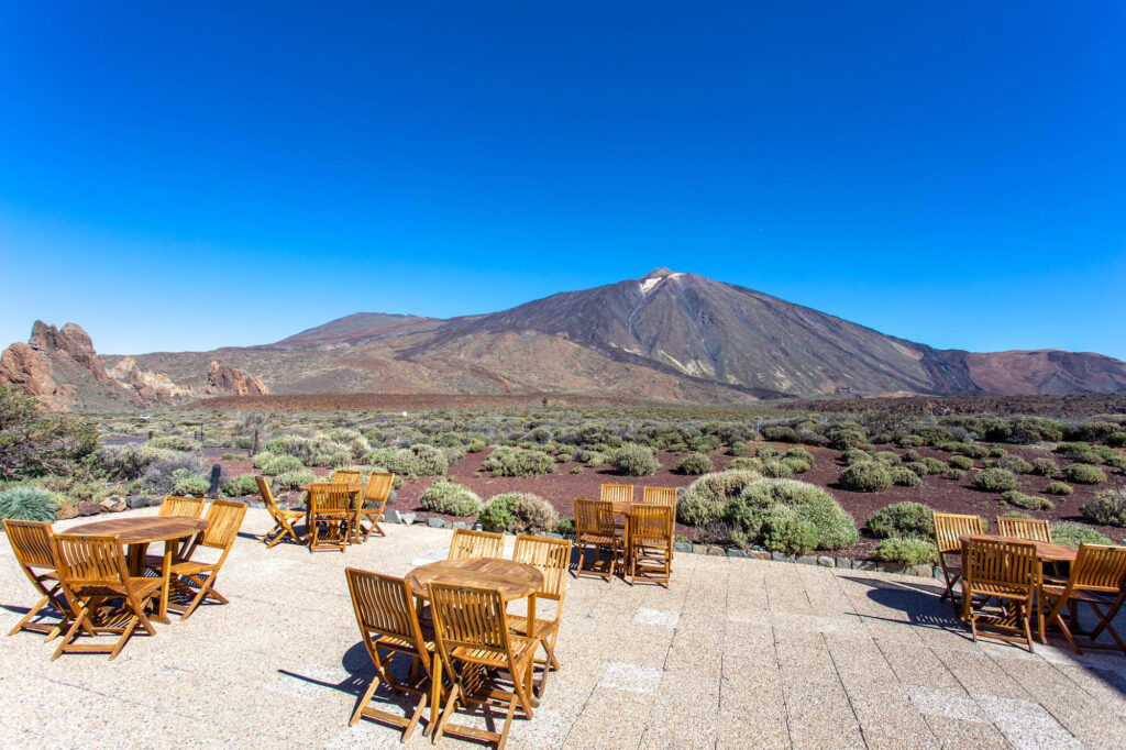 Grounds at the Parador de Canadas del Teide