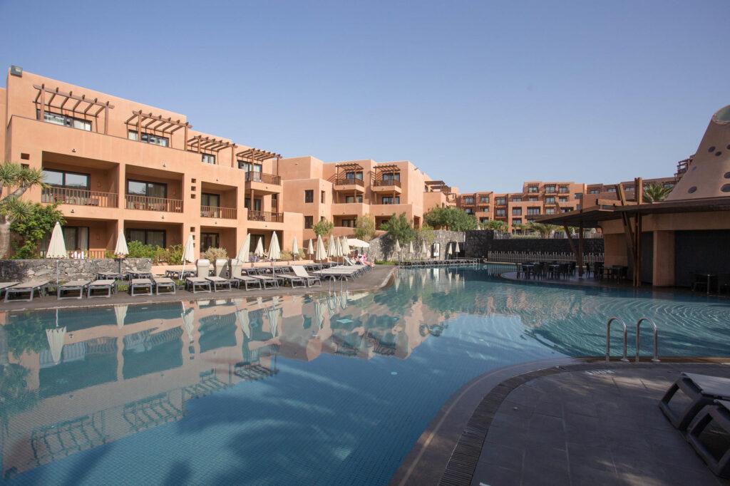 The Heated Pool at the Sandos San Blas Nature Resort & Golf
