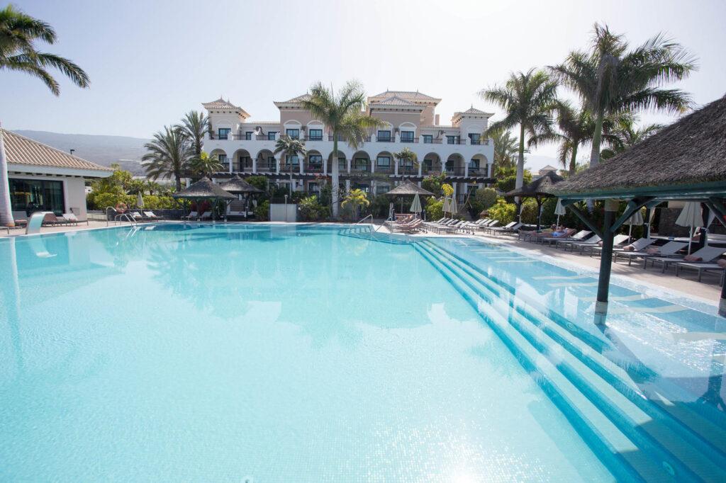 The Infinity Pool at the Gran Melia Palacio de Isora Resort & Spa