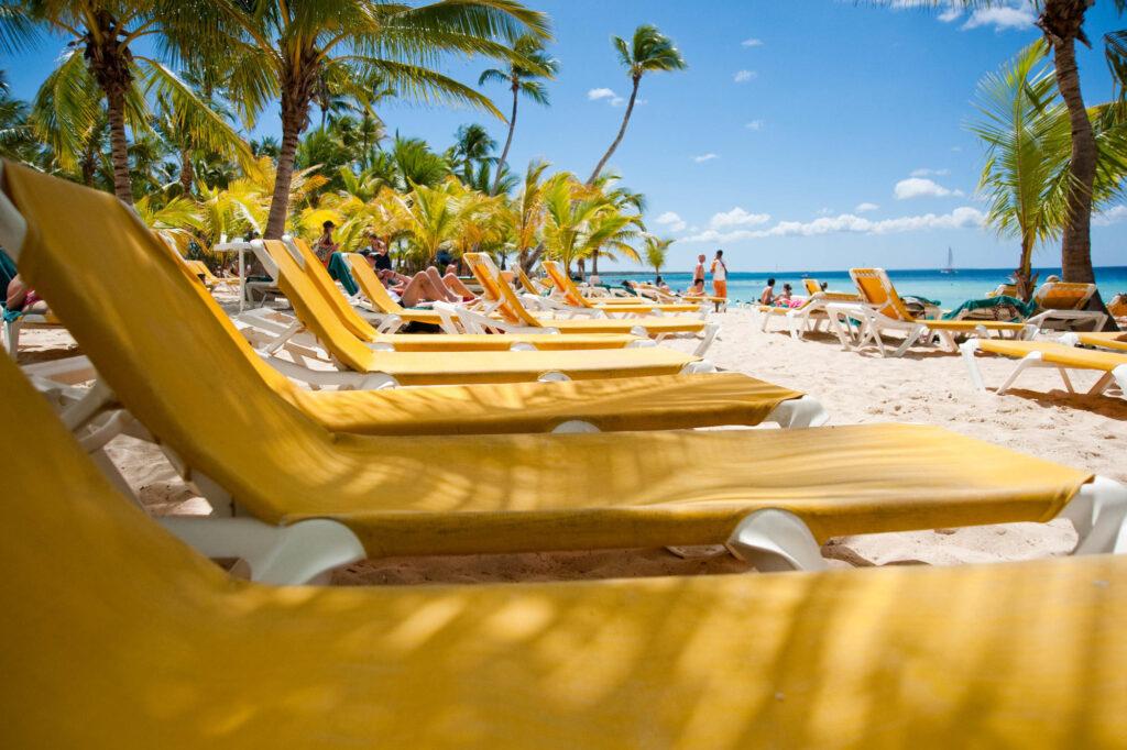 Beach near La Romana in the Dominican Republic