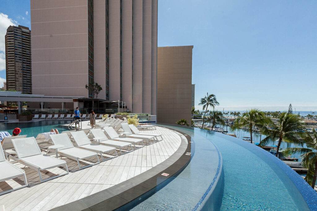 The Pool at the Prince Waikiki