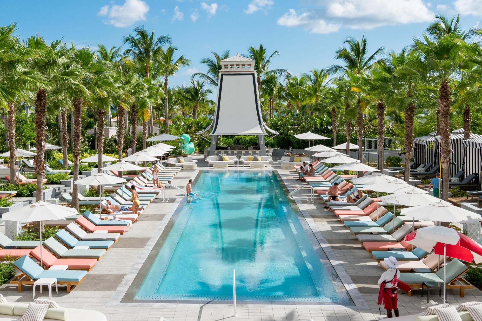 Pool at SLS Baha Mar, Nassau