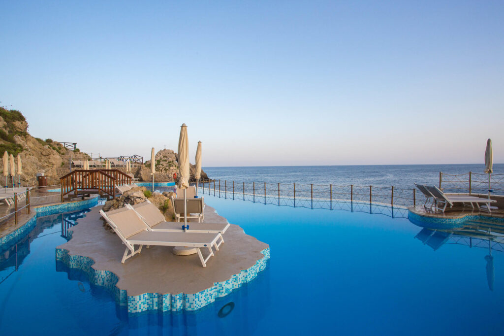 The Pool at the UNAHOTELS Capotaormina