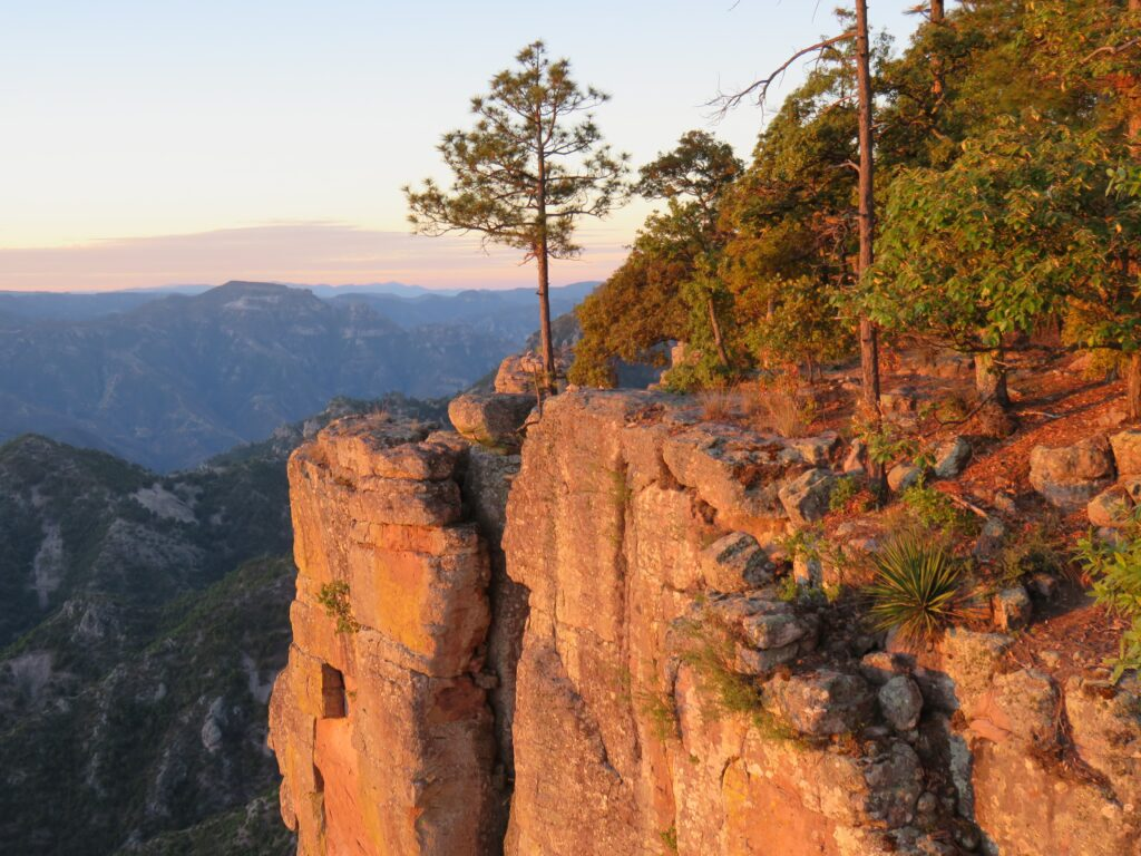 Copper Canyon at sunrise, Chihuahua, Mexico
