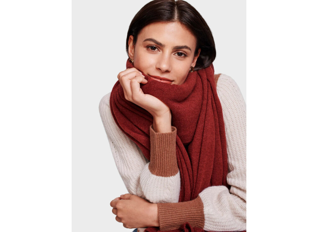 Cashmere Travel Wrap from White and Warren