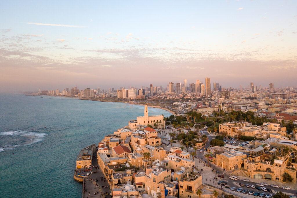 Tel Aviv city view