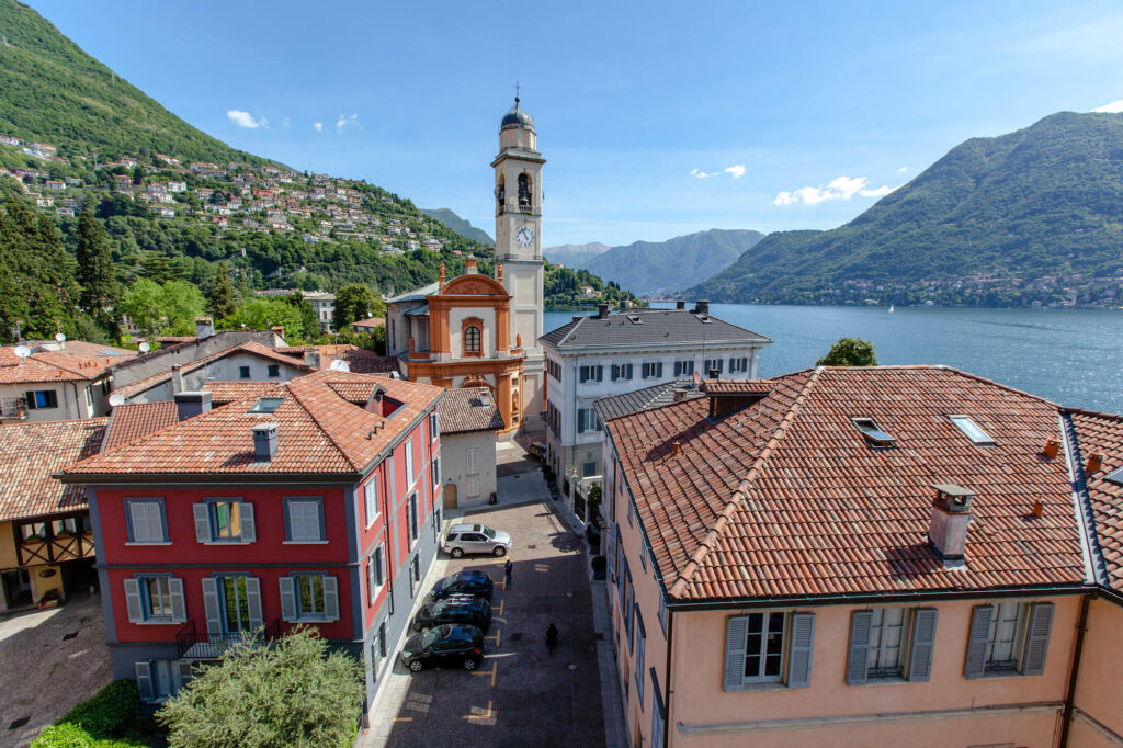 Lake Como view from Hotel Miralago