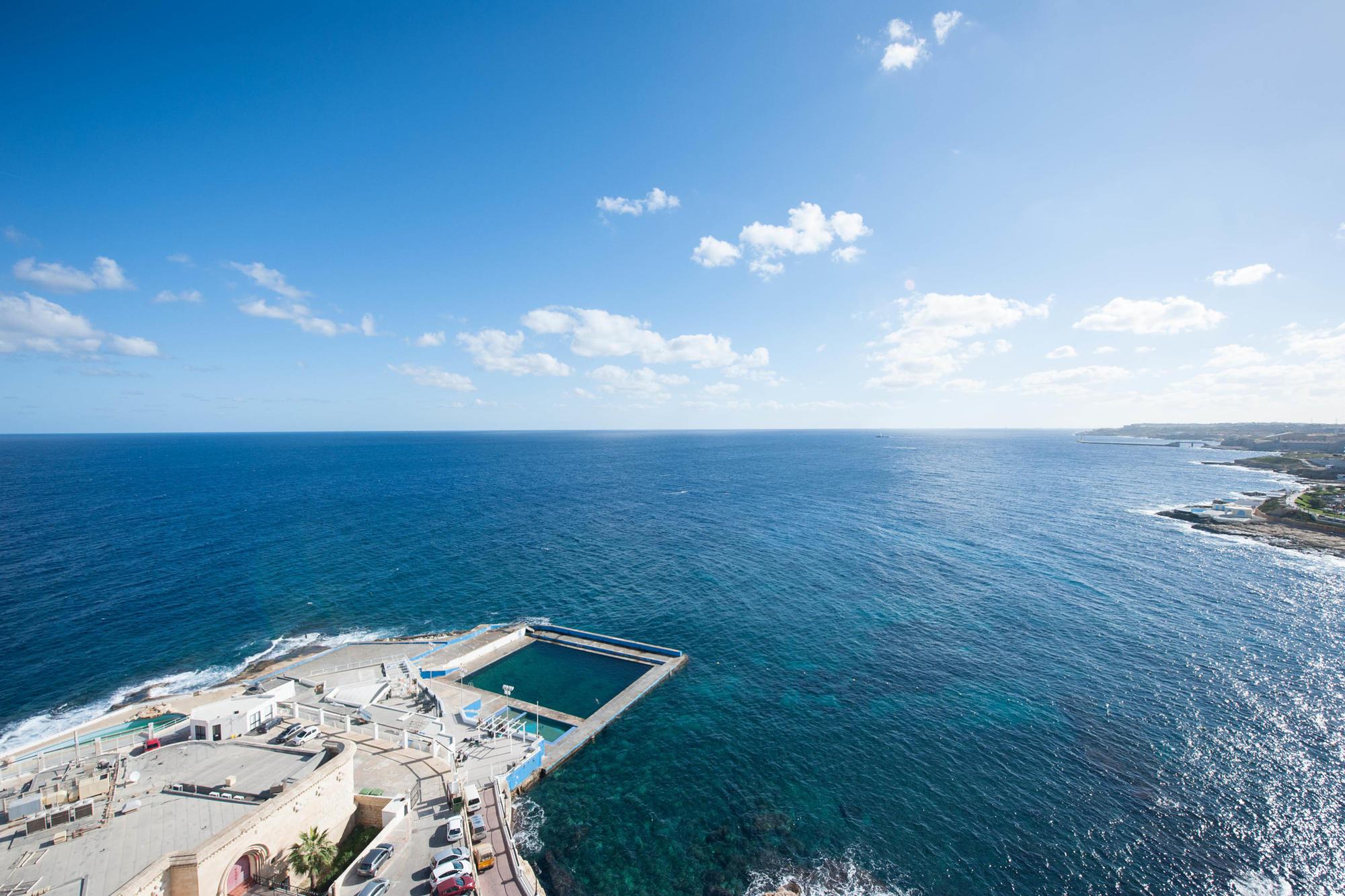 View from Preluna Hotel & Spa, Malta