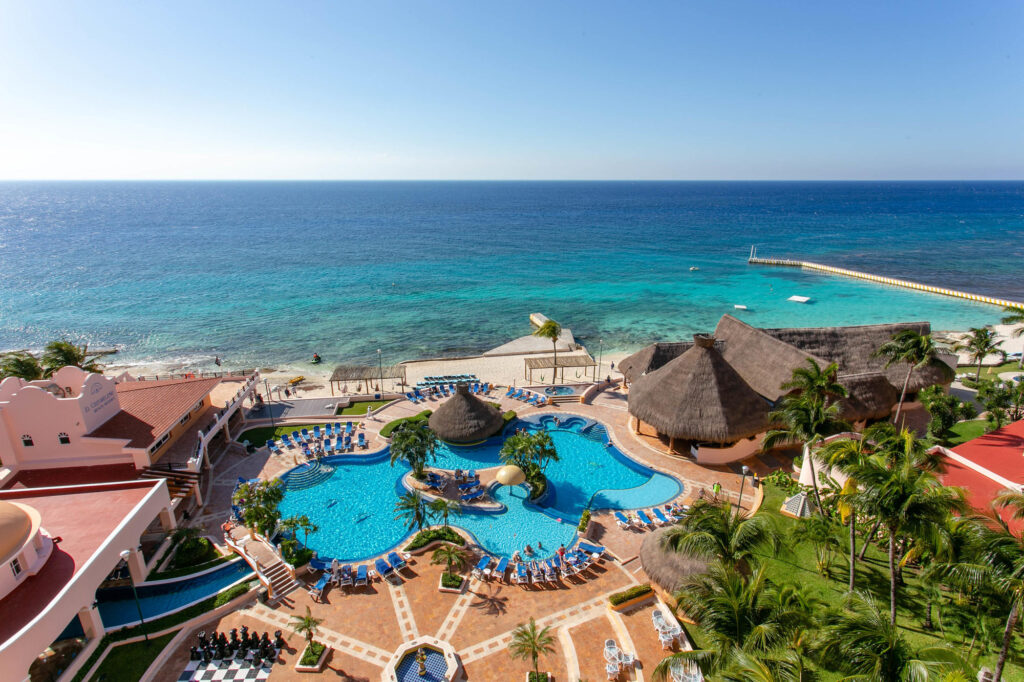 The Sky Ocean View at the El Cozumeleno Beach Resort