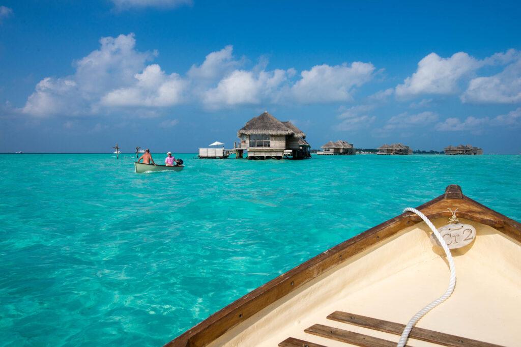 Boat ride at the Gili Lankanfushi