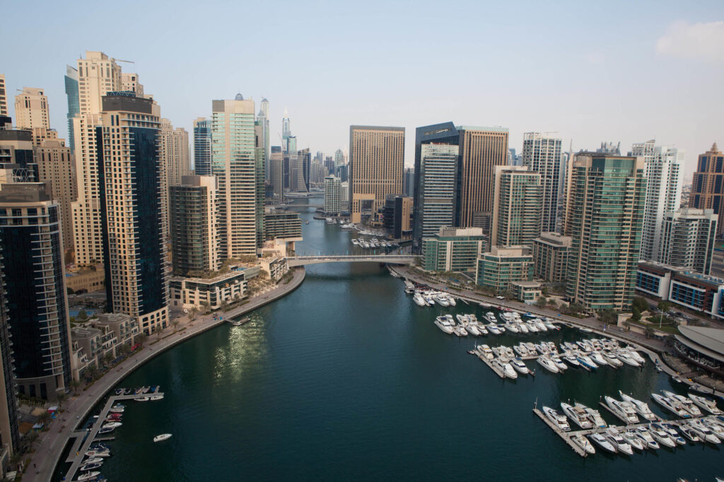 The Marina in Dubai