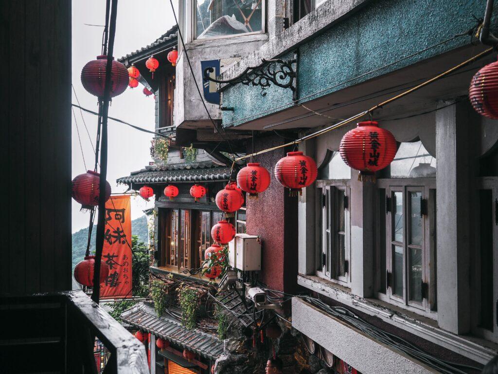 Jiufen Old Street, Taipei, Taiwan